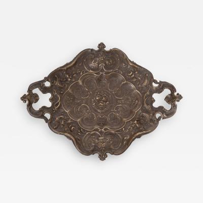 French Vintage Decorative Brass Vide Poche