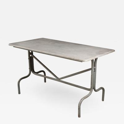French Vintage Industrial Style Bistro Table