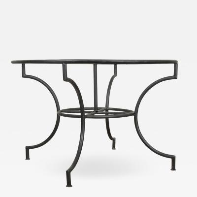 French Vintage Iron Garden Table Base