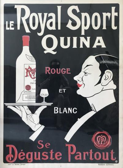 French Wine Poster