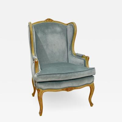 French Wing Chair Circa Late 18th Century