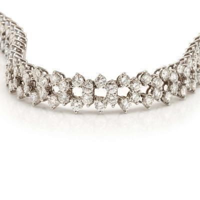 French diamond bracelet