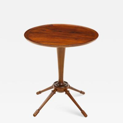Frits Henningsen An Interesting Rosewood Side Table Probably by Frits Henningsen Circa 1950s