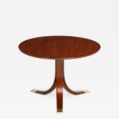 Frits Henningsen Frits Henningsen Circular Side Table circa 1940s