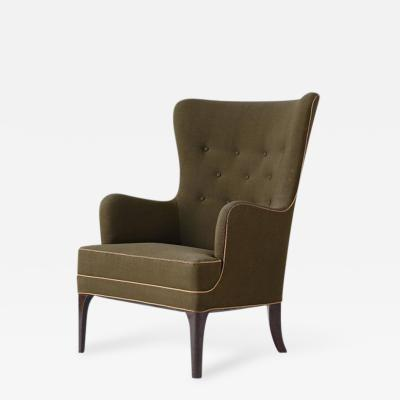 Frits Henningsen Frits Henningsen High Back Lounge Chair