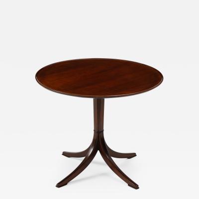 Frits Henningsen Frits Henningsen Mahogany Side Table Circa 1940s