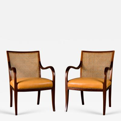 Frits Henningsen Frits Henningsen Pair of Armchairs