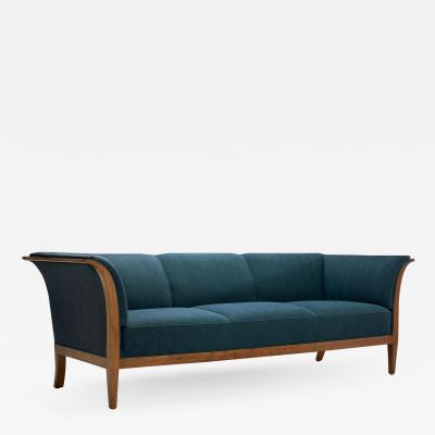 Frits Henningsen Frits Henningsen Three Seater Sofa by Frits Henningsen Denmark 1940s