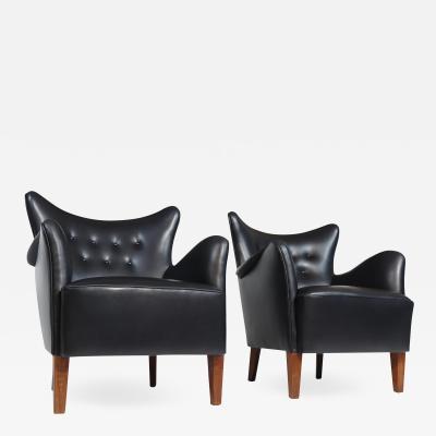 Frits Henningsen Fritz Henningsen Easy Chairs
