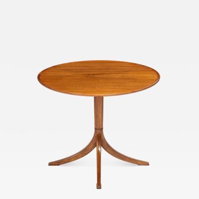 Frits Henningsen Scandinavian Modern Frits Henningsen mahogany side table circa 1940s