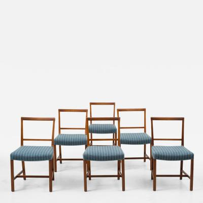 Frits Henningsen Set of Six Frits Henningsen Dining Chairs