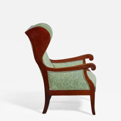 Frits Henningsen wingback lounge chair Denmark