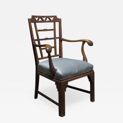 Fritz August Breuhaus de Groot An Expressionist Rococo Armchair