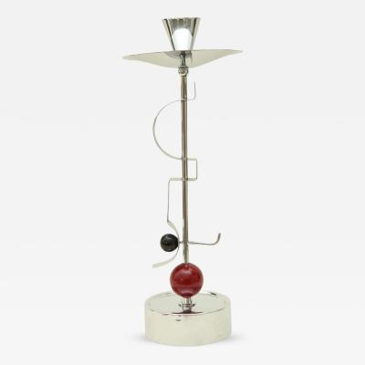 Fritz August Breuhaus de Groot Art Deco Candlestick by Fritz August Breuhaus de Groot for WMF