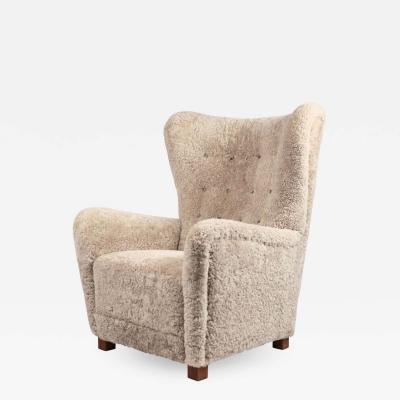 Fritz Hansen Fritz Hansen Easy Chair Model 1672 1940s