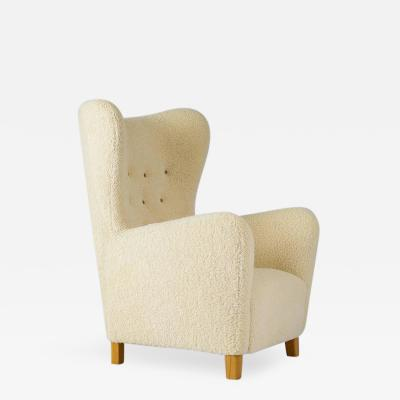 Fritz Hansen Fritz Hansen Sheepskin High Back Chair