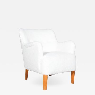 Fritz Hansen Peter White armchair model 1748 1940s