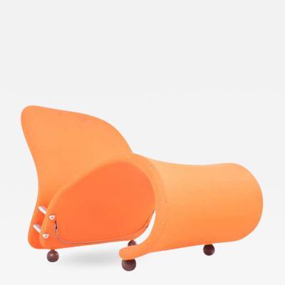 Fritz Hansen Scandinavian Modern Easy Chair G by Verner Panton for Fritz Hansen 1973