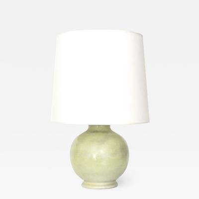 Fritz Haussmann Ceramic Table Lamp by Swiss Ceramic Artist Fritz Haussmann