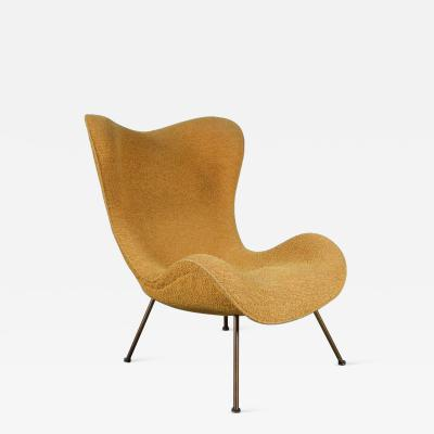 Fritz Neth 1950s Fritz Neth Madame Chair for Correcta Germany 1950
