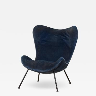 Fritz Neth Fritz Neth Madame Lounge Chair for Correcta Germany 1950s Upholstery needed