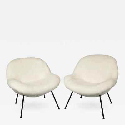 Fritz Neth Pair of Egg Chairs by Fritz Neth