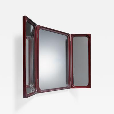 Frode Holm Frode Holm fold out triptych wall mirror for Illums Bolighus Denmark