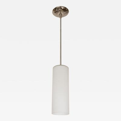 Frosted Tubular Pendant Fixture