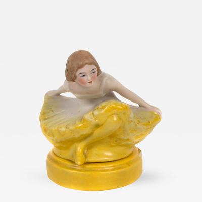 Fulper Pottery Early 20th Century American Ballerina Perfume Lamp by Fulper Pottery