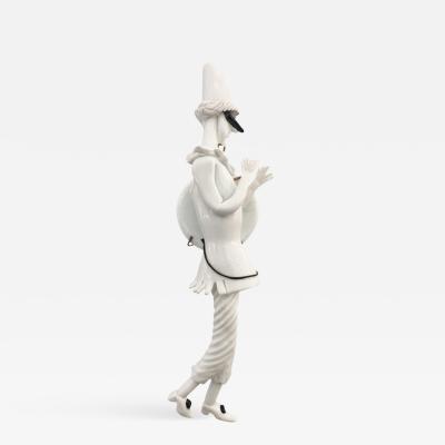 Fulvio Bianconi Venini Commedia Dell Arte Figurine by Fulvio Bianconi