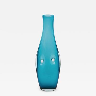 Fulvio Bianconi Venini Murano Fulvio Bianconi Called Henry Moore Blown Glass Vase
