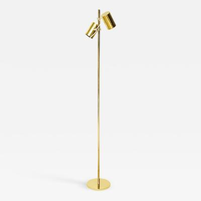 Fulvio Ferrari BRASS GIUNKO FLOOR LAMP BY FULVIO FERRARI FOR SOLKA B