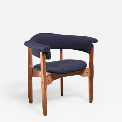 Fulvio Raboni Fulvio Raboni armchair with purple upholstery Italy 1960s