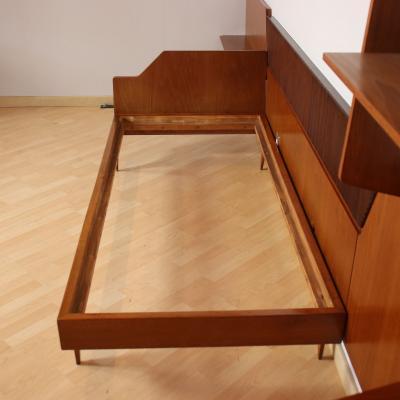 Furniture Teak Veneer Italy 1950s 1960s