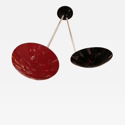 G C M E A Ceiling Lamp or Sconce by G C M E Italy 1960