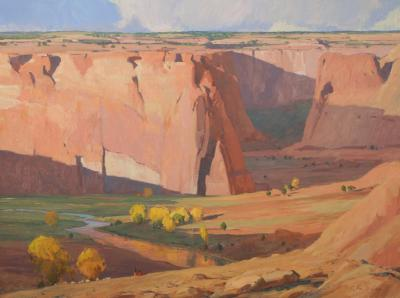 G Russell Case Days End Canyon de Chelly
