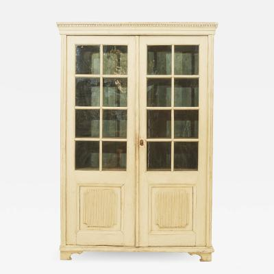 GUSTAVIAN GLASS CABINET SWEDEN 1820