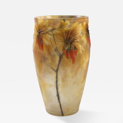 Gabriel Argy Rousseau Art Nouveau Vase Lyciet de Barbarie by Argy Rousseau