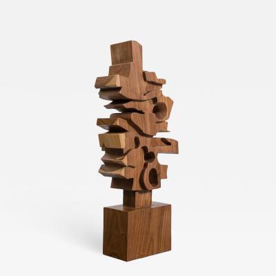 Gabriela Valenzuela Hirsch Hand Carved Wooden Sculpture by Gabriela Valenzuela Hirsch
