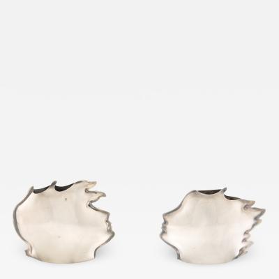 Gabriele de Vecchi Sterling Silver Vases