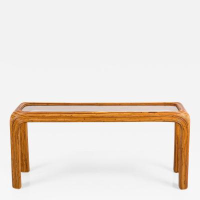 Gabriella Crespi Console Table in Style of Gabriella Crespi
