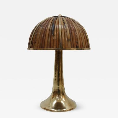 Gabriella Crespi Fungo Table Lamp designed by Gabriella Crespi