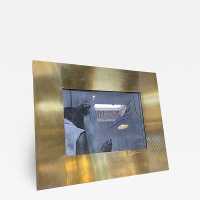 Gabriella Crespi Gabriella Crespi Brass Picture Frame 1970S