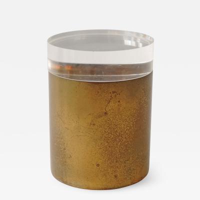 Gabriella Crespi Gabriella Crespi Brass and plexi container