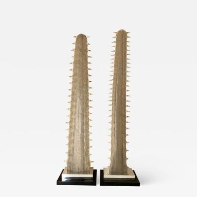 Gabriella Crespi Pair of Sawfish Bill Rostrums