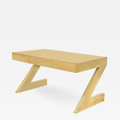 Gabriella Crespi Rare Z Desk by Gabriella Crespi