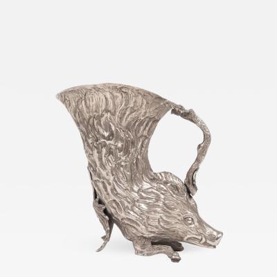 Gabriella Crespi Silver Plated Rhyton by Gabriella Crespi for Christian Dior