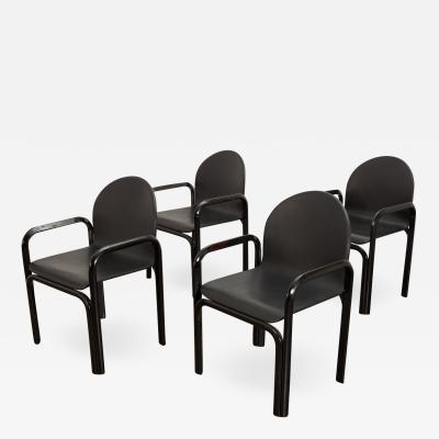 Gae Aulenti Gae Aulenti For Knoll Model 54A Dining Chairs