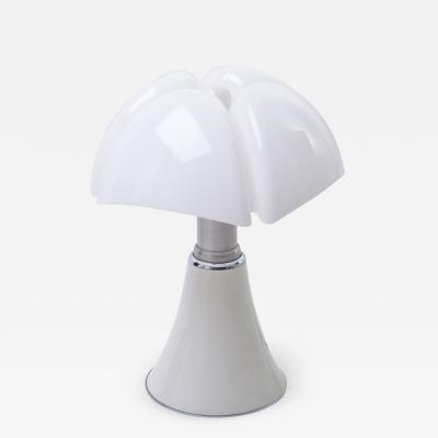 Gae Aulenti White 1960s Pipistrello Lamp by Gae Aulenti for Martinelli Luce