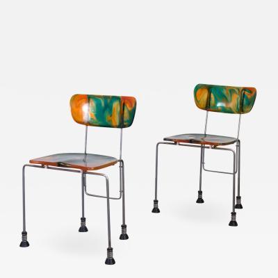 Gaetano Pesce 543 Broadway Chairs by Gaetano Pesce